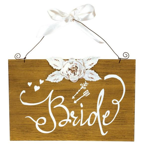 Boston International Bride Sign (Set of 4) SGC16334