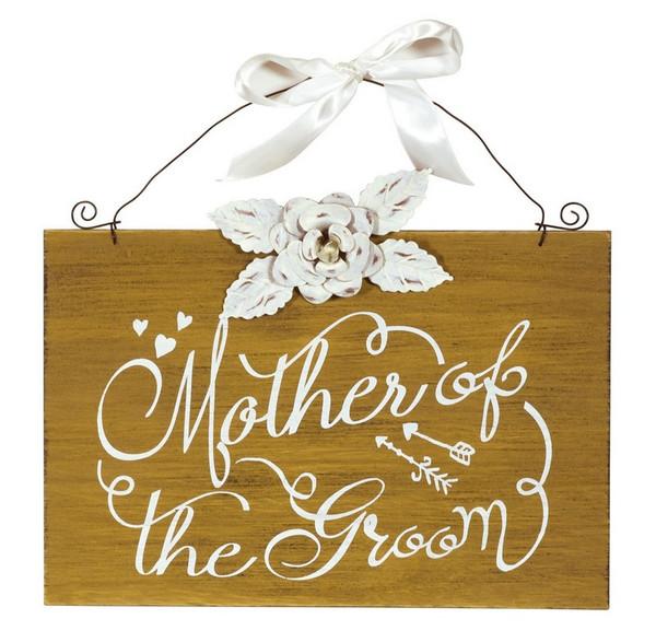 Boston International Mother of the Groom Sign (Set of 4) SGC16336