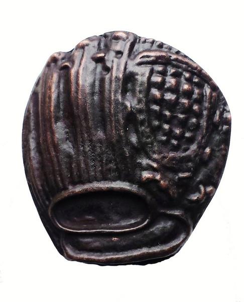 065-ORB Baseball Glove Cabinet Knob - Oil Rubbed Bronze