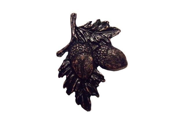 300-ORB Acorns On Branch Cabinet Knob - Oil Rubbed Bronze