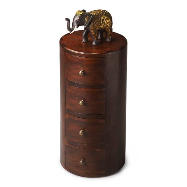 Butler Liam Solid Wood Pedestal Table 1176260