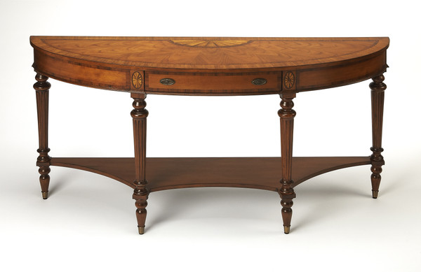 """Butler Latham Demilune Console Table 1510090 """"Special"""""""
