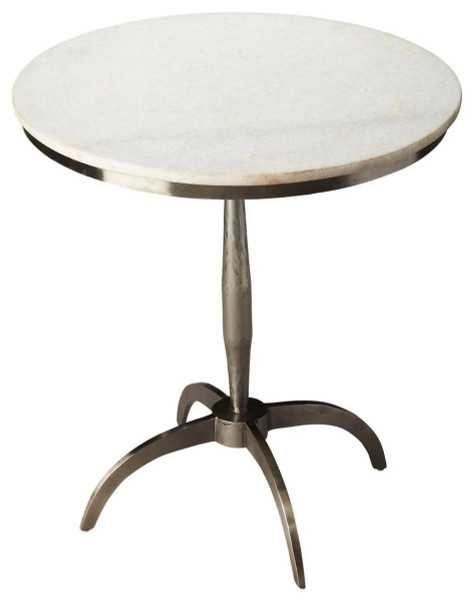 Butler Palmilla Marble & Metal Accent Table 2868140