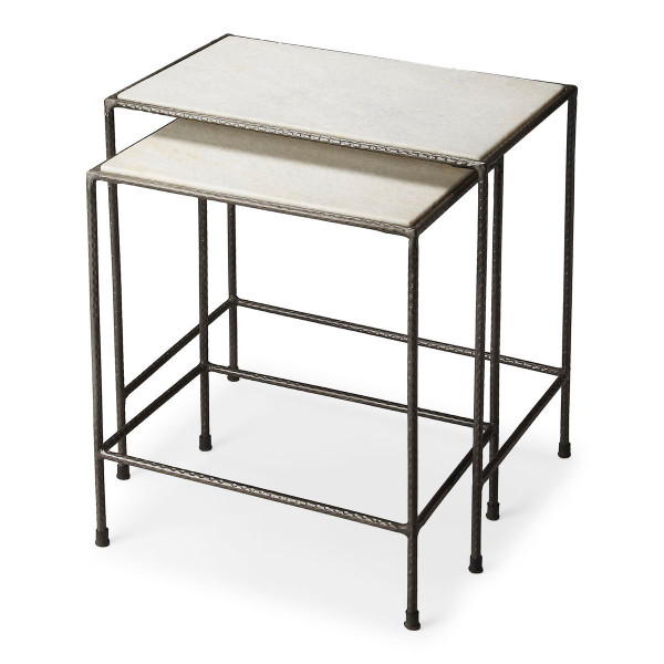 """Butler Carrera Marble Nesting Tables 2870330 """"Special"""""""
