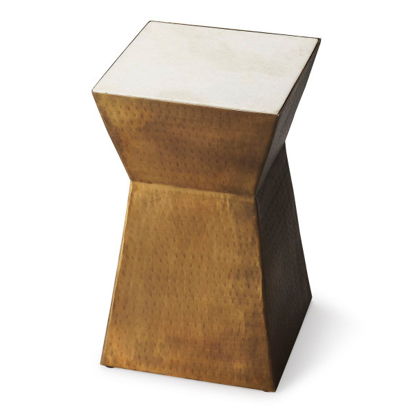 """Butler Asheville Marble & Metal Bunching Table 2878140 """"Special"""""""