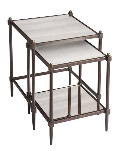 "Butler Peninsula Mirrored Nesting Tables 3047025 ""Special"""