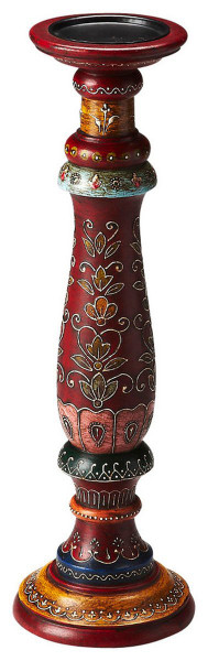 """Butler Meadow Hand Painted Candle Holder 3464016 """"Special"""""""