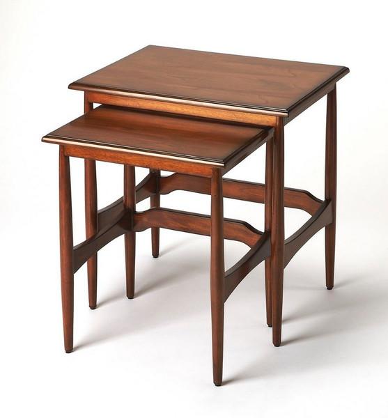 Butler Bryant Mid-Century Modern Nesting Tables 3749101