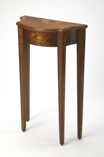 """Butler Chester Olive Ash Burl Console Table 3756101 """"Special"""""""