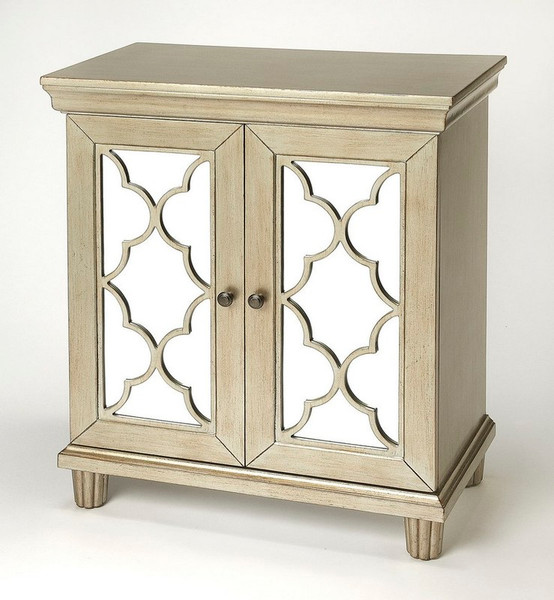 """Butler Jocelyn Silver Accent Cabinet 4429409 """"Special"""""""