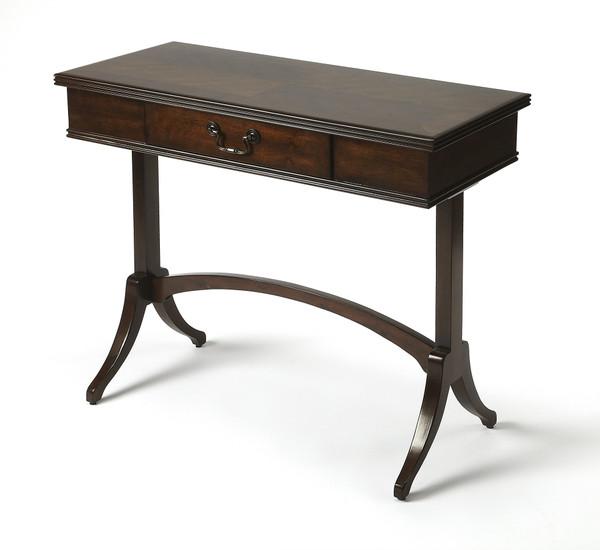 Butler Alta Antique Coffee Writing Desk 4456403