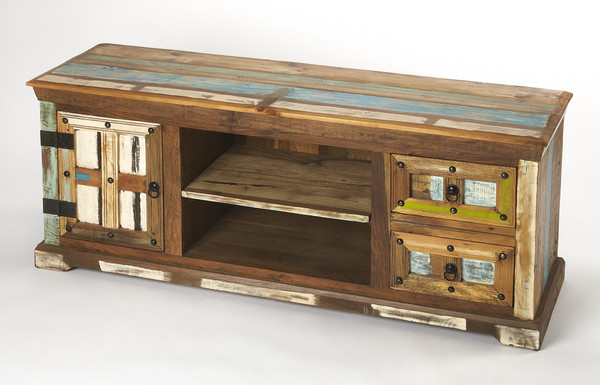 Butler Reverb Painted Rustic Entertainment Console 5260290
