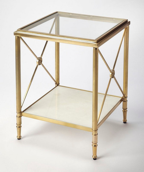 "Butler Taren Gold End Table 5309025 ""Special"""