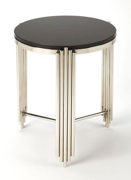 Butler Khalifa Black Granite End Table 5310025