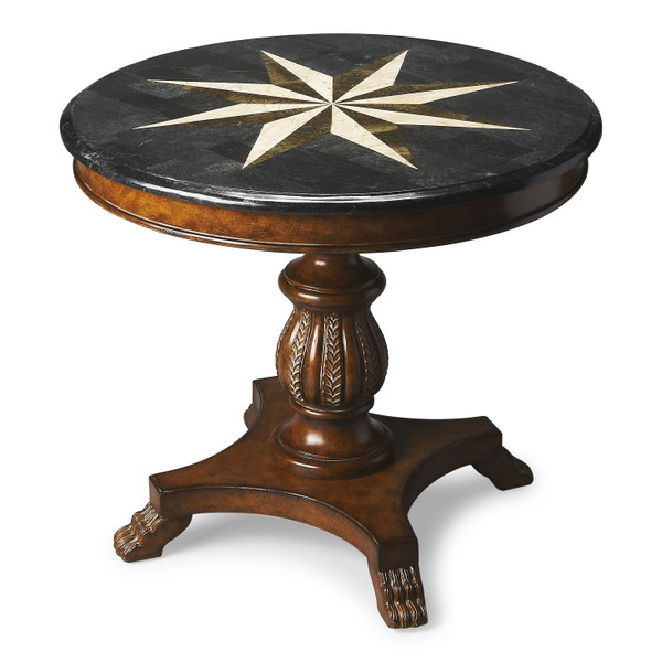 """Butler Andorra Fossil Stone Accent Hall Table 545070 """"Special"""""""