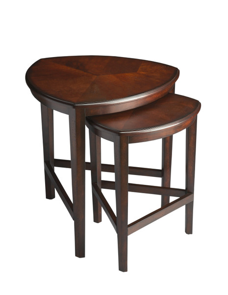"Butler Finnegan Chocolate Nesting Tables 7010117 ""Special"""