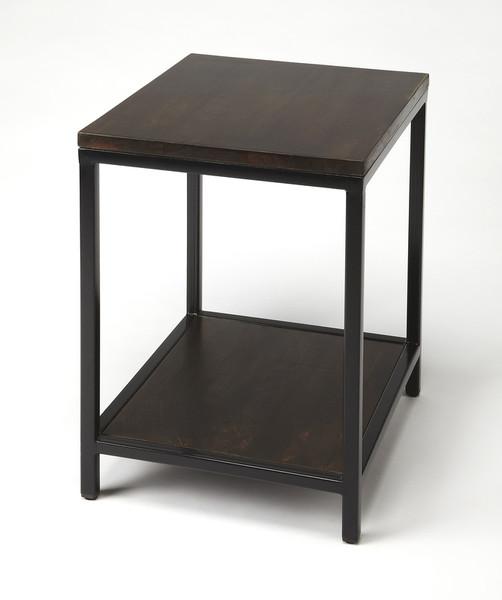 Butler Landry Wood & Metal End Table 9214330