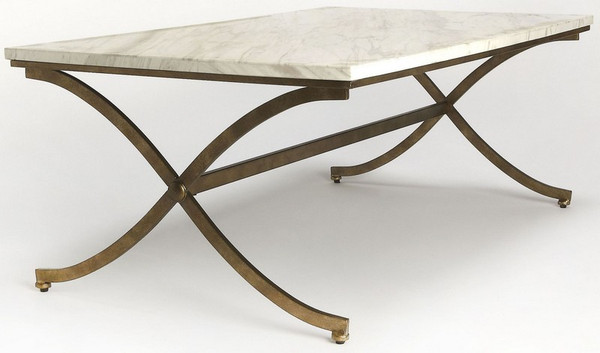 "Butler Pamina Travertine Cocktail Table 9322355 ""Special"""