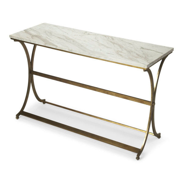 """Butler Pamina Travertine Console Table 9324355 """"Special"""""""