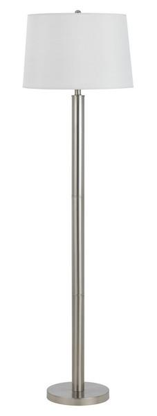 LA-8020FL-1-BS Metal Floor Lamp - Brushed Steel by Calighting