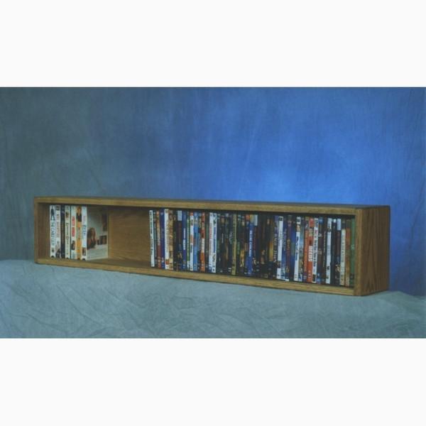 110-4 W Wood Shed Solid Oak Wall Or Shelf Mount Book Cabinet