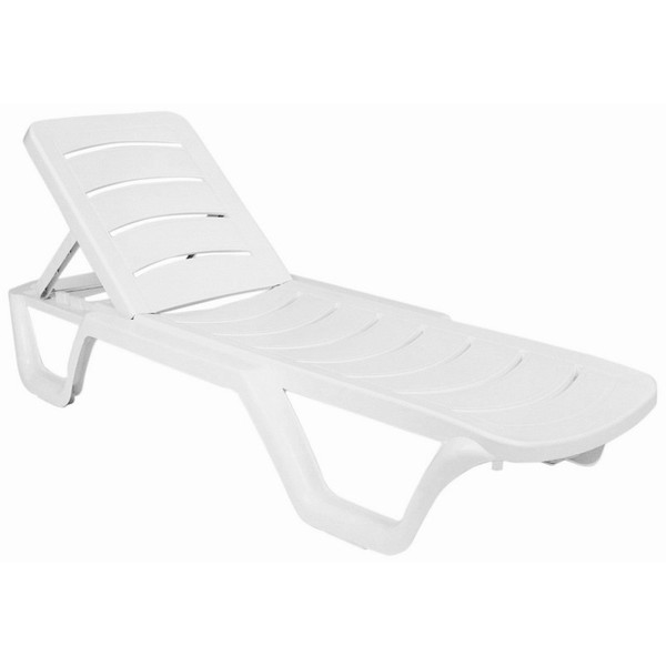 Compamia Sunlight Pool Chaise Lounge White (Set Of 4) ISP077-WHI