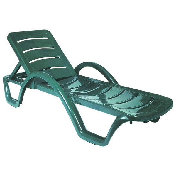 Compamia Sunrise Pool Chaise Lounge Green (Set Of 4) ISP078-GRE