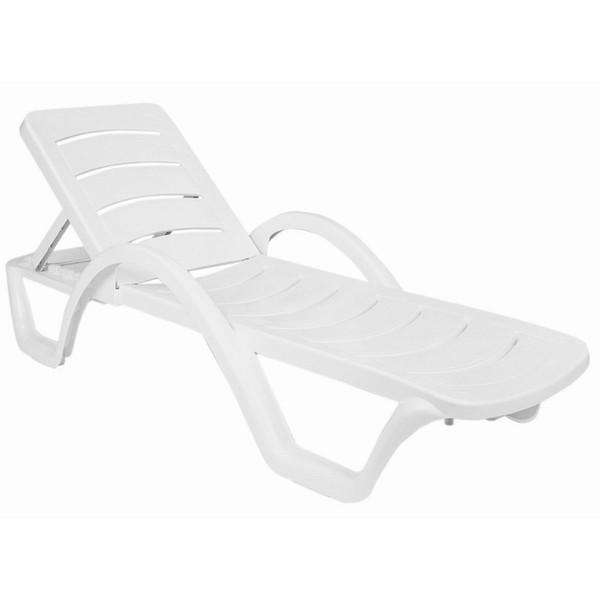 Compamia Sunrise Pool Chaise Lounge White (Set Of 4) ISP078-WHI