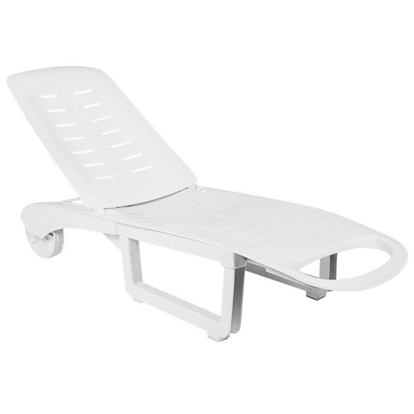 Compamia Sundance Pool Chaise Lounge White (Set Of 2) ISP080-WHI