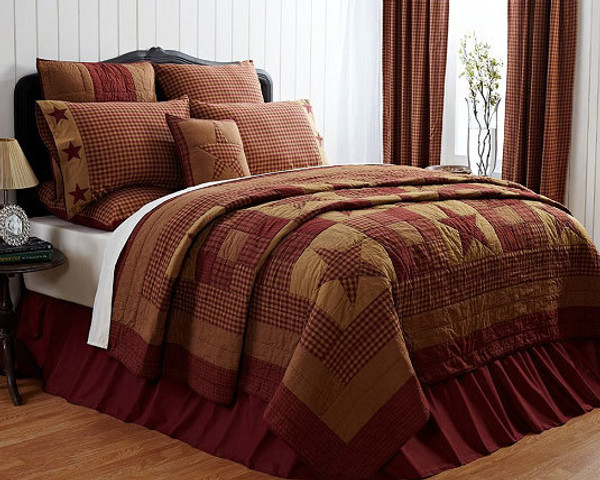Ninepatch King Quilt G13610 By CWI Gifts