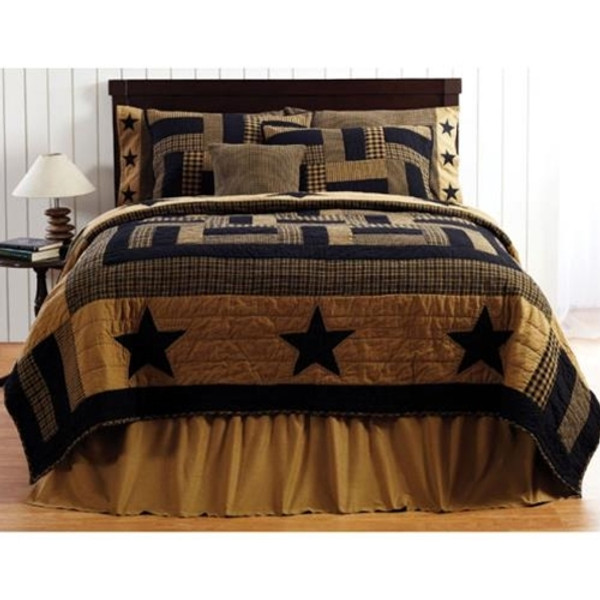 Delaware Star King Quilt G13813 By CWI Gifts