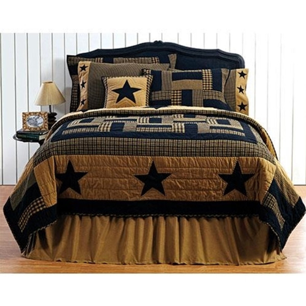 Delaware Star Queen Quilt G13814 By CWI Gifts