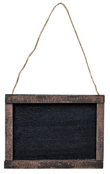 Hanging Blackboard (Pack Of 5) G32891 By CWI Gifts