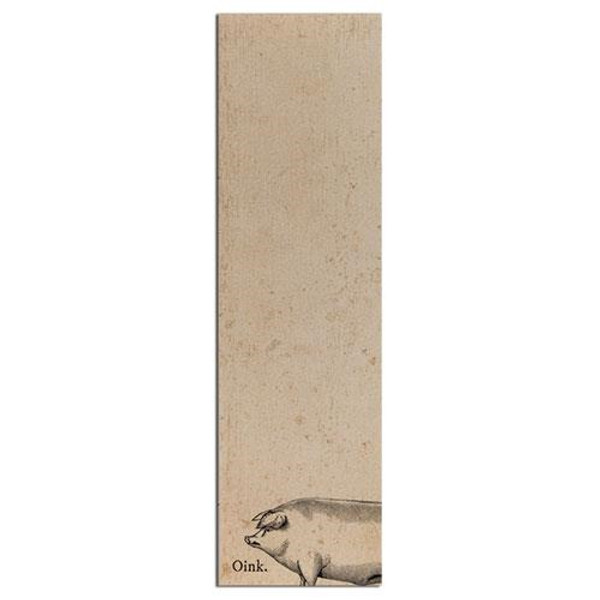 Oink Notepad (Pack Of 5) G50011 By CWI Gifts