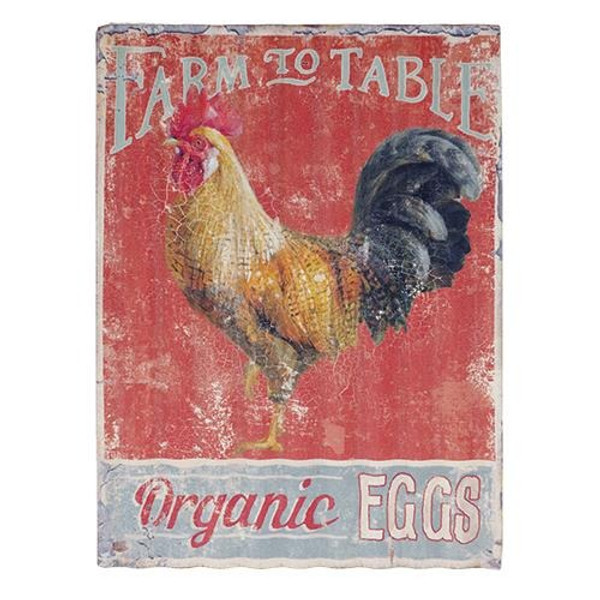 Farm To Table Sign G60084 By CWI Gifts