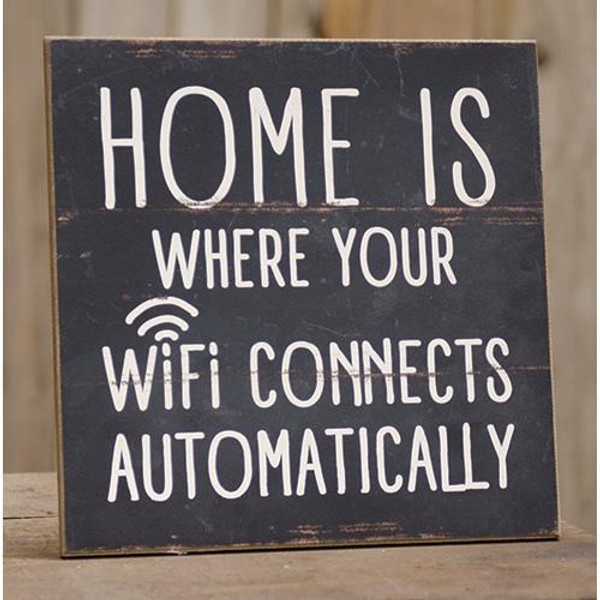 Wifi Connects Sign G65012 By CWI Gifts