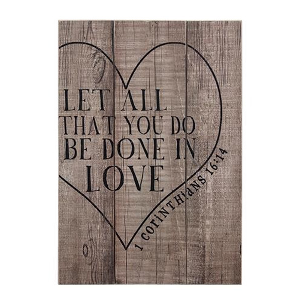 Let All You Do Sign G65029 By CWI Gifts