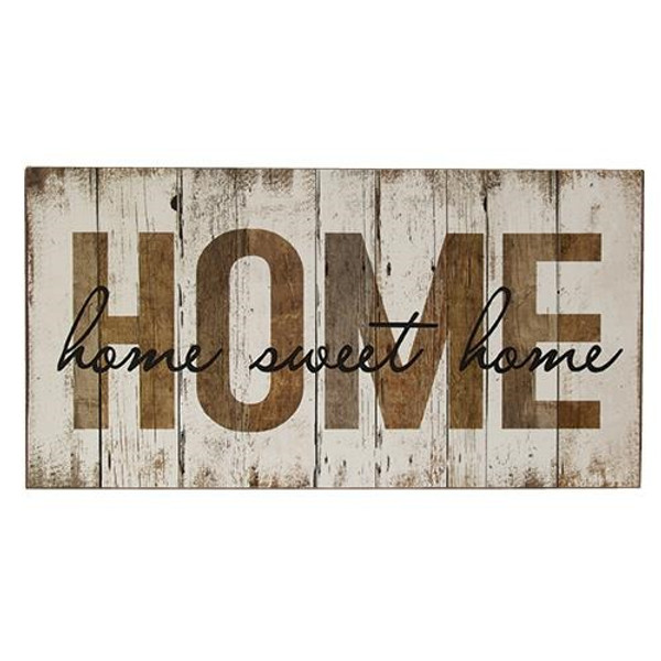 Home Sweet Home Sign G65030 By CWI Gifts