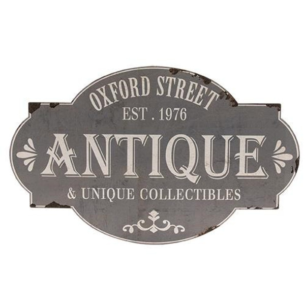 Oxford Street Antique Sign G65039 By CWI Gifts