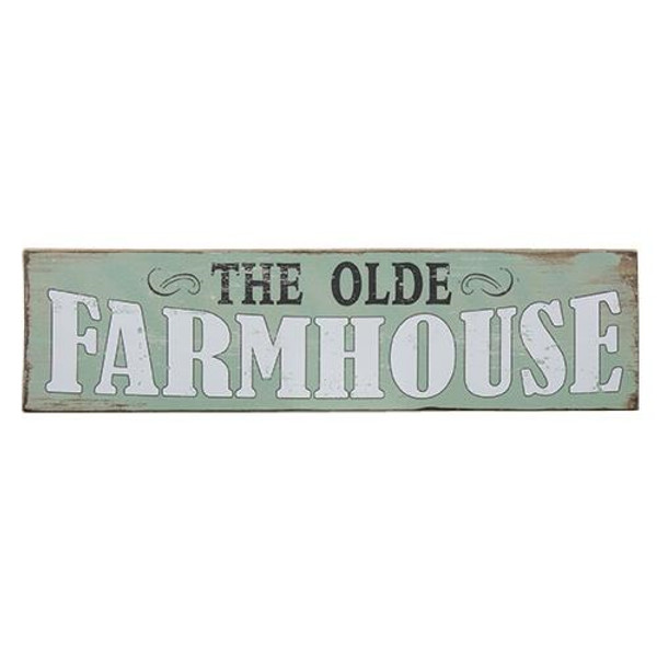 The Olde Farmhouse Sign G65055 By CWI Gifts
