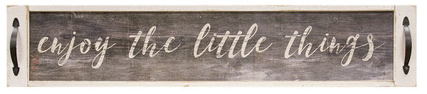 Enjoy The Little Things Sign G65068 By CWI Gifts
