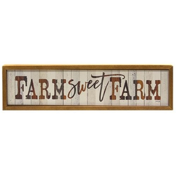 Farm Sweet Farm Sign G65069 By CWI Gifts
