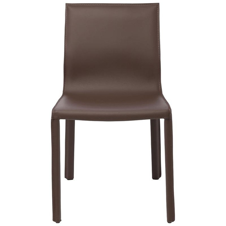Nuevo Mink Leather Colter Dining Chair HGAR266