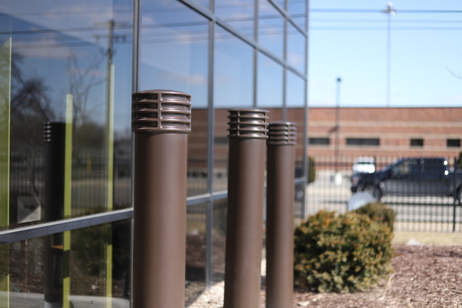 "6"" Brown Cinco Decorative Bollard Covers"