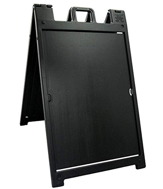 Signicade Deluxe A-Board in black without sign