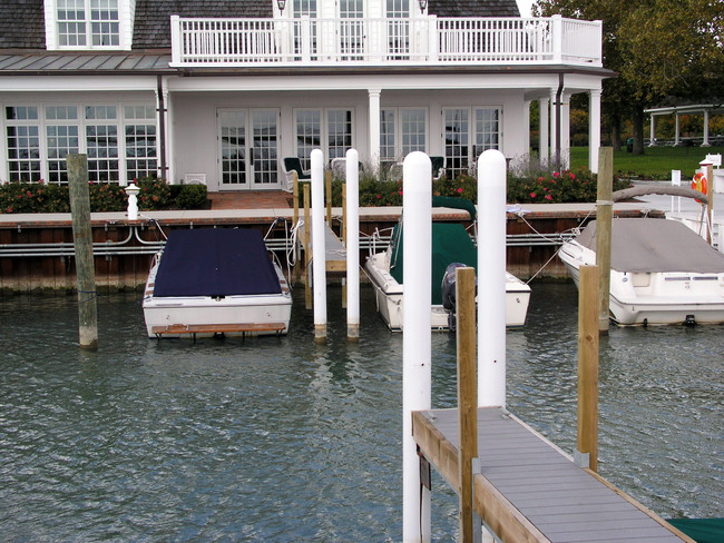 Bollard Covers are Perfect to Protect Marina and Boat Dock Pilings