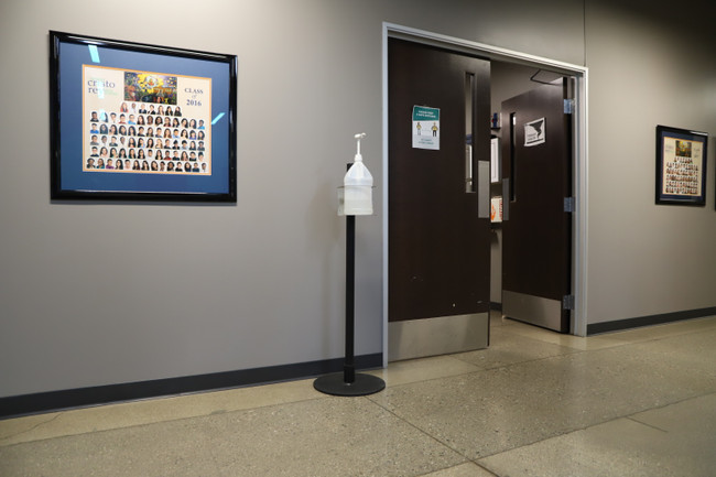 Keep Visitors and Employees Safe with Hand Sanitizer Stands