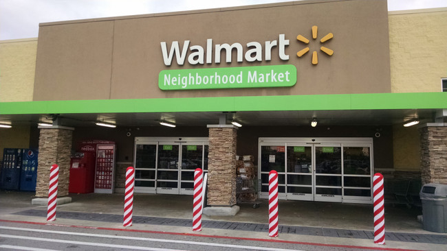 Deck the Halls: Add Candy Cane Fabric Bollard Covers to Your Property