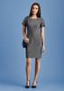 Womens Short Sleeve Dress 30312