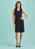 Womens Sleeveless V Neck Dress 30121